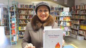 Dorina Sandri, lettrice numero 70mila della Biblioteca comunale di San Giovanni Lupatoto accoglie con gioia la notizia