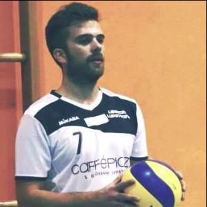 Jacopo Bovolenta, allenatore della squadra femminile di volley Libertas Lupatotina