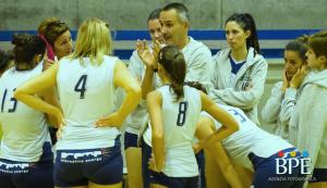 Il coach Albano e la Volley Libertas