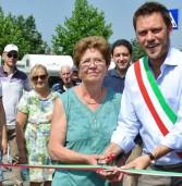 Inaugurata pista ciclabile via Pertini