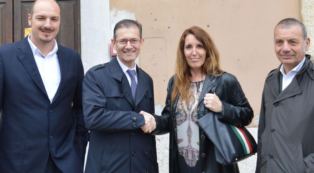 Roberto Sterza, Attilio Gastaldello, Elena Donazzan e Massimo Giorgetti