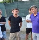 Il sindaco incontra il calcio San Giovanni