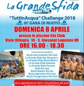 La Grande sfida domenica 8 aprile in piscina