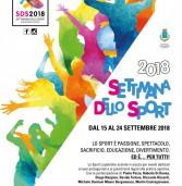 Settimana dello sport 2018