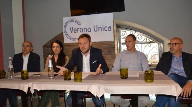 "Vantini lancia "" Verona Unica"""