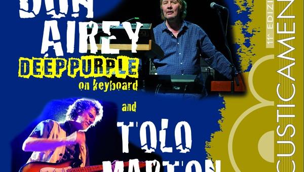 Omaggio ai Deep Purple sabato 9 febbraio all'Astra