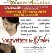 Omaggio a De Andrè il 10 marzo