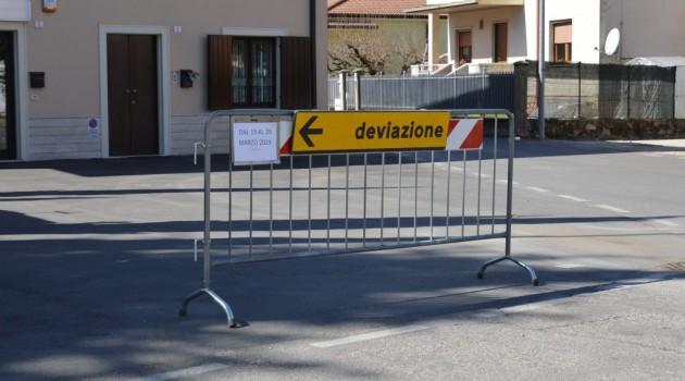 Chiusura di via Camacici dal 19 al 29 marzo