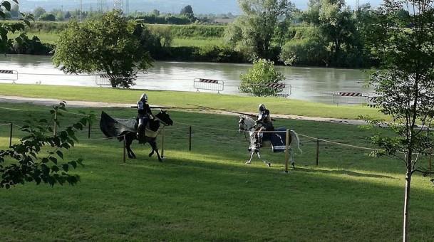 Palio del Drappo Vrede e Pace della Paquara al Parco dell'Adige
